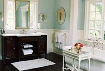 Bathroom ideas / by Teri Seabrook