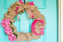 ~Pretty Wreaths~ / All kinds of decorative wreaths and door hangings