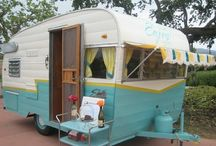 Vintage campers / by Nancy Forehand Hart
