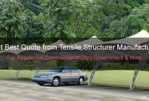 Tensile Structure / Tensile Structure - Are You Know Tensile Fabric Structure is  Manufacturer ,supplier, dealer and exporter of wide range of tensile structure in Delhi.   http://www.fabstructure.in/