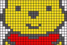 Beads/Perler/Hama Winnie the Pooh