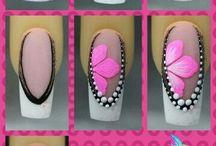 oefenen nail art