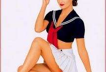Pin up navy