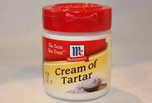 Hints Cream of tartar / Cleaning