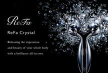 ReFa Crystal / ReFa Crystal Releasing the expression and beauty of your whole body with a brilliance all its own.