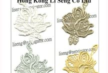 Lace Trims Cotton Embroidery Applique Manufacturer Wholesale and Supplier - Hong Kong Li Seng Co Ltd / We are Lace Trims and Applique Manufacturer  Mass production of small amounts of remaining stock, Best for its own brand product, retail boutiques and online stores.  More Trims Pattern Shown On http://lacesupplier.blogspot.com And http://stocklace.blogspot.com  A limited number of inquiries please contact liseng@biznetvigator.com  1. Excellent quality.  2. Reasonable price.  3. Prompt delivery.  4. Satisfying service.  Hong Kong Li Seng Co Ltd Offical Website.:http://www.hkliseng.com