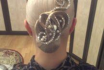 ballrom hair