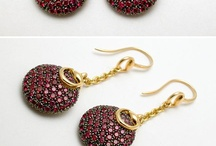 Jewels - Earrings / by Archana Viswanath