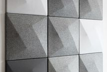 Acoustic tiles and panels