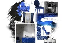 The latest colour trends by Bizzotto / Inspiration Boards n 1# blue oltremare