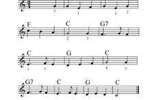 Músicas e partituras
