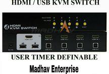 Splitters & Switchers Madhav Enterprise, Surat / Madhav Enterprise provides #HD & #4Kx2K #Splitters & #Switchers with #Premium #Quality at #BestRate in #Surat & #South #Gujarat #India @salesmadhav