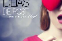 blog e redes sociais