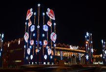 Luminarie Natalizie natale / Decori natalizi luminosi per centri commerciali. Allestimenti interni ed esterni