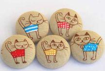 γάτες σε πέτρες παιδικο
