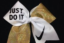 cheer and dance bows/ sets / by Charli Yiannakou