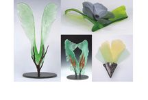 DJR Glass / Cast crystal sculptures by Donna Rice