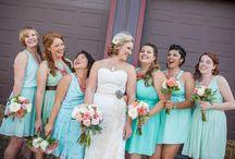 Bridesmaids / Ideas for bridesmaids dresses