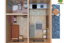 Casa de madera Modelo Madrid - Ecoandeco