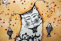 Natalia Pastuszenko - Painting and graphics / Работы художника Наталии Пастушенко, авторская техника на холсте и бумаге. Контакт с автором по вопросам приобретения прав на публикацию или покупки оригиналов - pastuszenko@gmail.com