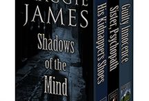 Shadows of the Mind Box Set 1 / A Kindle box set compilation of my first three novels: His Kidnapper's Shoes/Sister, Psychopath/Guilty Innocence.