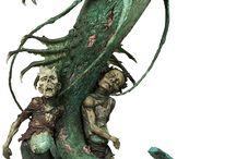 Miniatures and Terrain / Warhammer, Miniature Battles, Model Terrain, Mordheim