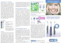 Zahn- und Körpergesundheit / Zahnreinigung mit der einzigen Ultraschallzahnbürste weltweit. Emmi-dent, 100% Ultraschall, für gesunde Zähne und Zahnfleisch.                                                                        http://ec-success.com/ritt