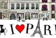 Paris  wall paper