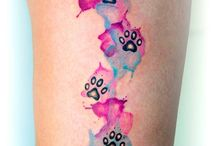 Cat Paw Tattoos