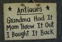 History-Vintage and Antique Goods / by Denise Cranford Kearney