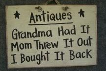 History-Vintage and Antique Goods / by Denise Cranford Kearney