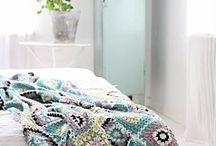Huovat - Blankets / Virkattuja ja neulottuja huopia