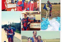 Blogger Event / Blogger Hazal Yılmaz ve Elif Tanverdi Skydive Efes Maceraları