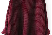 Manche longue en laine
