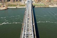 ponts et passerelles / ponts et passerelles originaux ou connus ou célèbres