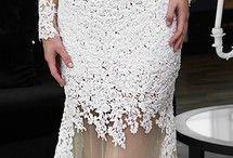 lace nets chiffons