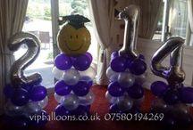 Prom Balloon Decor