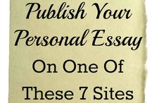 Great Sites for Publishing