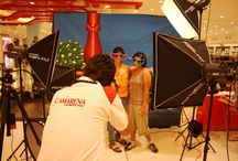 Recreate Your Digital Identity / Camarena Team at Shoopers Stop in South City Mall. Hundreds of people came, some put on masks, some freaky glasses, the little girls all wanted to be dressed as fairies, some wanted to use the umbrellas. End of 3 days, everyone had fun and people got some funky pictures, the likes they'll keep forever.