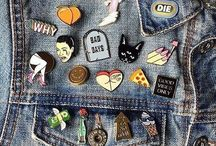 Pins and patches idk