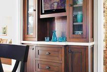 Kitchen Wine/Cabinet