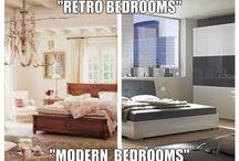 """retro bedrooms"""