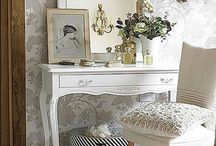 """Vintage Themed Ideas / """" A place to call home """" Inspirational Home Furnishings and Great Ideas for setting up home."""
