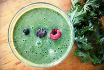 Healthy Drinks / Healthy home-made teas, smoothies and more