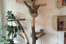 Idéer till katträd