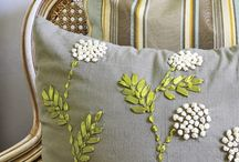 Pretty pillows / by Cheryl Draa Interior Designs