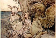 Alice in W:Arthur Rackham / Alice in wonderland (illustrator)