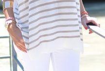 Pantalones Vaqueros Blancos