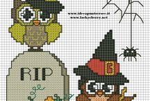 Halloween en Punto de Cruz