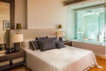 Bangkok bedroom interior / Interior design for bedrooms at various Bangkok condos and apartments.
